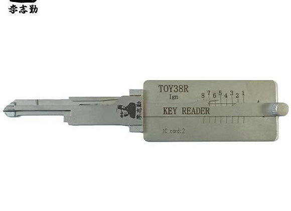 ORIGINAL LISHI Toyota / TOY38R / 2 in 1 / Pick & Decoder