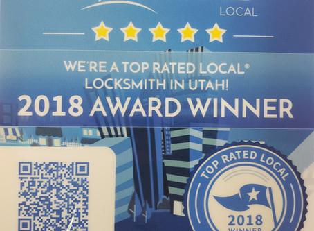Key Man Wins 2018 #1 In Utah Award