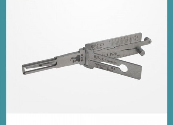 Original LISHI HU66 V3 2-in-1 Auto Pick and Decoder
