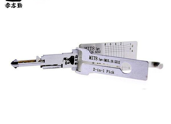 ORIGINAL LISHI Mitsubishi / MIT8 / 2-in-1 / Pick & Decoder
