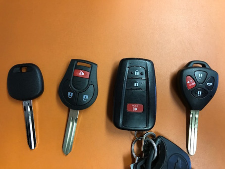 Key Man Makes Toyota Keys