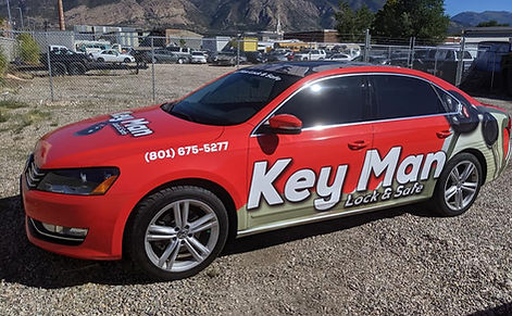 Key Man Lock & Safe car