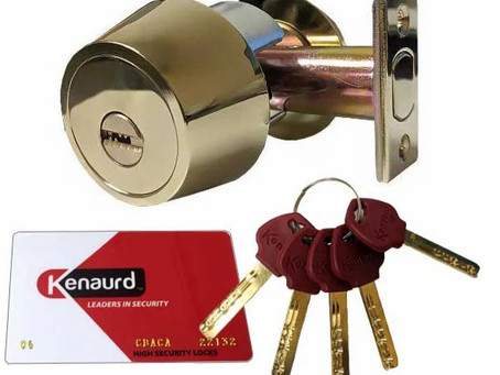 High Security Locks Greatly Increase Security