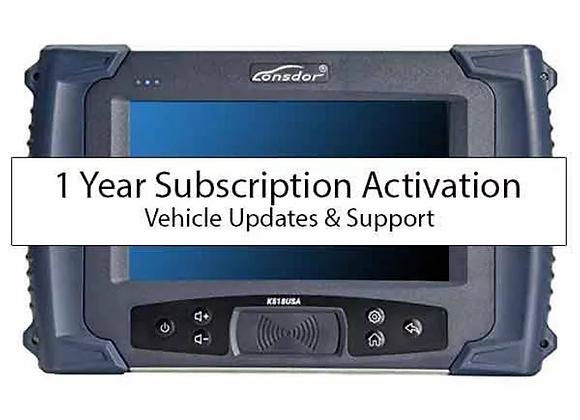 Lonsdor K518s 1 Year Subscription
