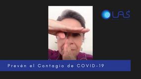 El contagio de COVID-19