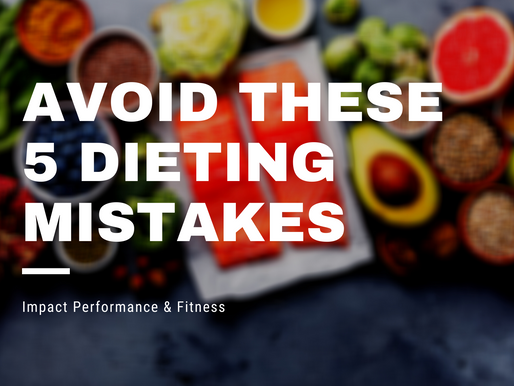 5 Dieting Mistakes You Should Avoid When Cleaning Up Your Nutrition