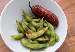 Steamed Spicy Edamame