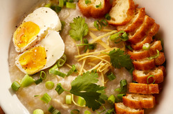 Chicken and Egg Congee