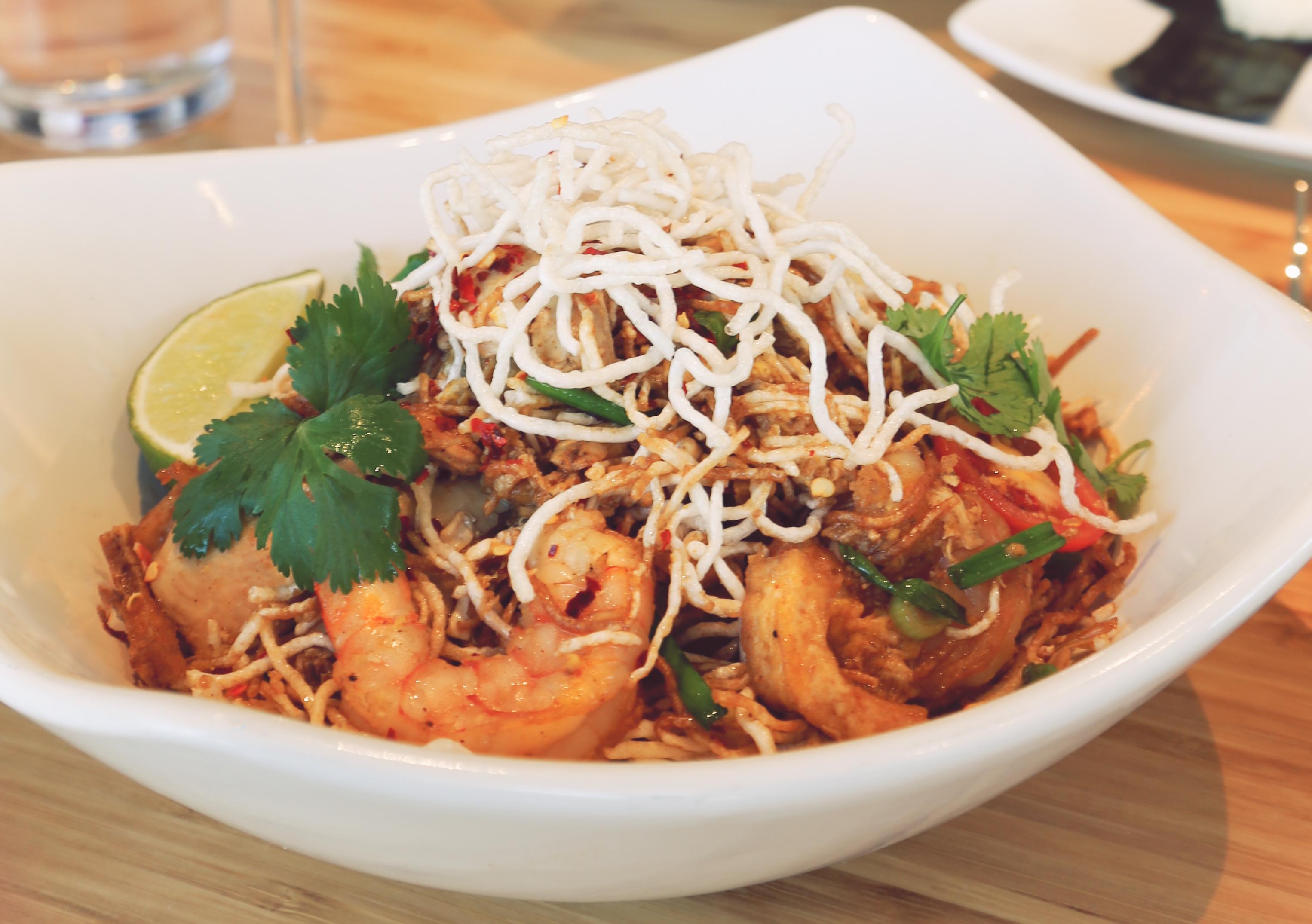Tuesday - Sweet & Sour Crispy Noodles