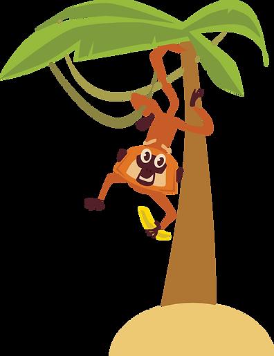 Monkey on Palm Tree shutterstock_3941136