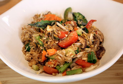Basil Vegetable Fried Rice