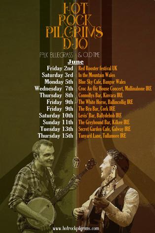 HOt Rock Pilgrims Duo Tour IRE/UK