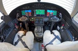 Citation M2 - Cockpit
