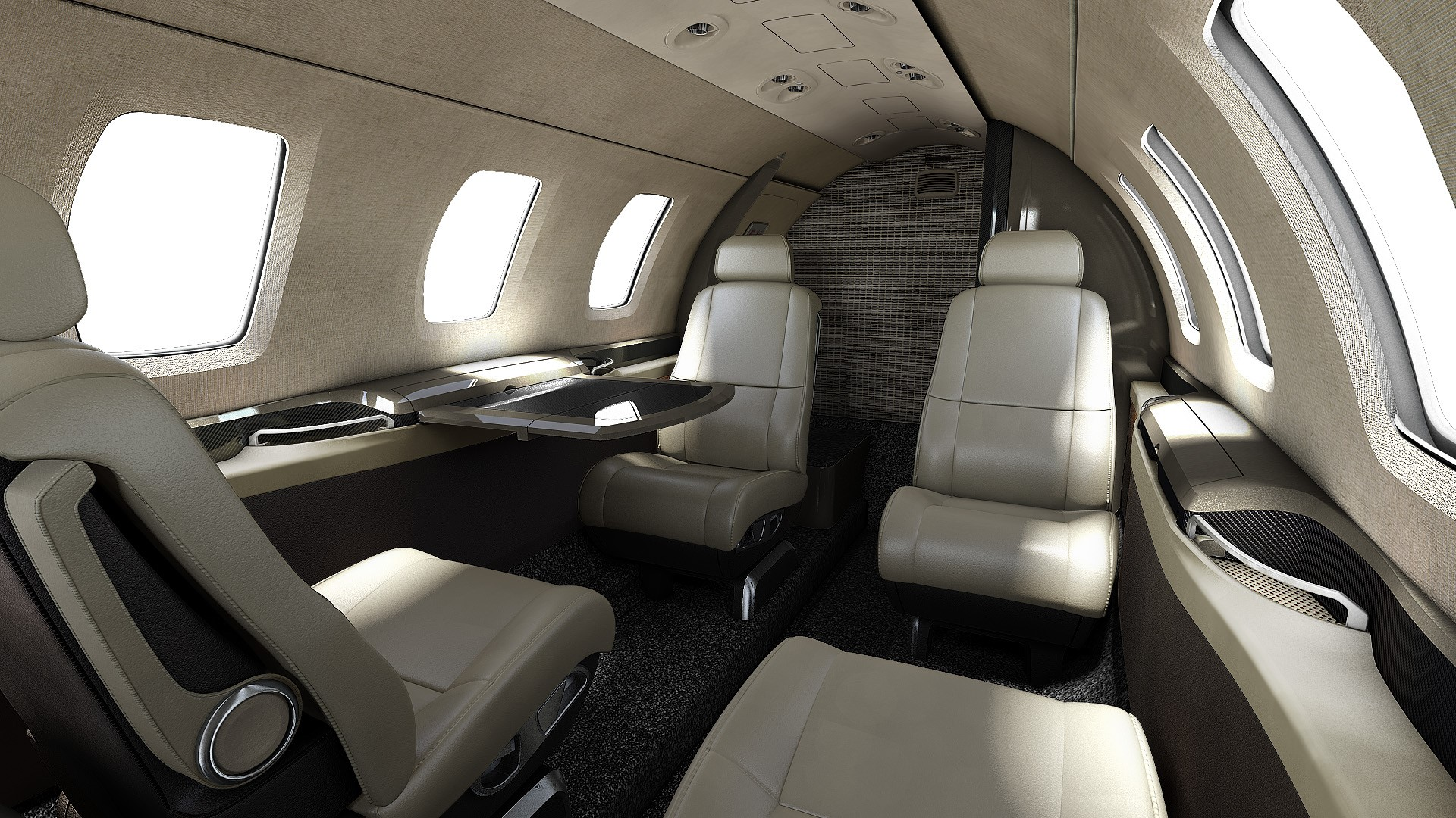 Cabine Cessna Citation M2
