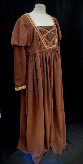 Chest 48 waist 44 light brown gown.jpeg
