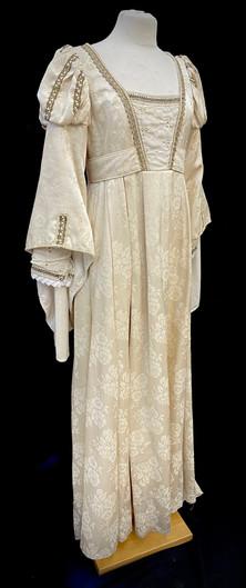 Chest 38 Waist 31 off white gown.jpg