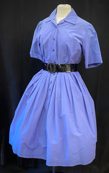 Chest 36 - Blue Violet button down full