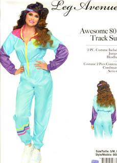80s track suit women