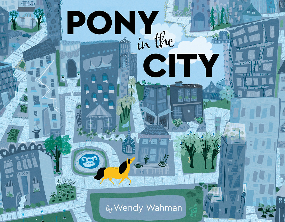 "Click on Otis to go to his book trailer. ""Pony in the City"" releases Sept. 12th."