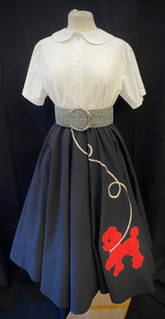 Skirt Small - Black with red poodle.jpg