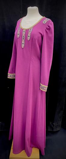 Chest 40 waist 36 fuscia stretch dress.j