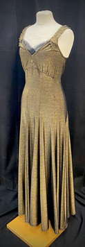 Chest 32 - Gold and black evening gown.j