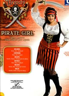 Pirate Girl plus