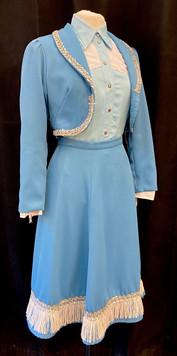 Chest 34 waist 27 light blue 2 PC - shir