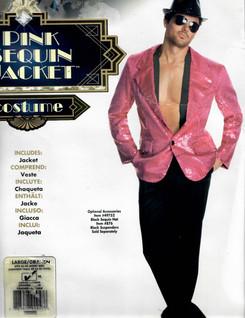 Pink Sequin Jacket