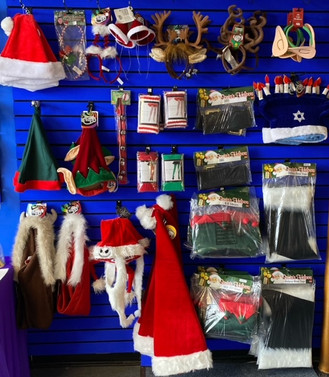 various holiday accessories