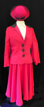 Chest 36 - 3 PC dress suit with matching