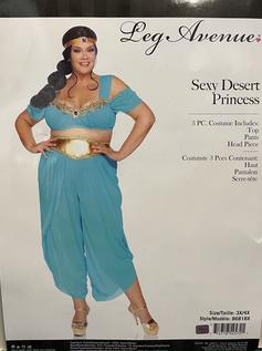 Sexy Desert Princess plus