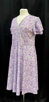Chest 34 - Purple floral short sleeve da