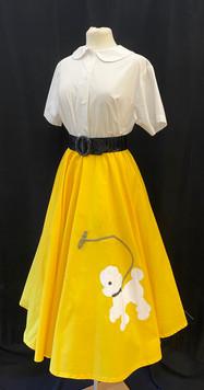 Skirt Small - Yellow poodle skirt.jpg