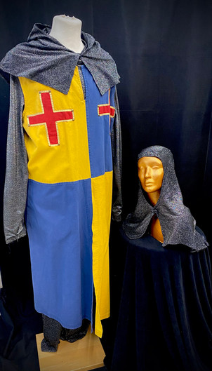 Yellow and Blue tabard - SM-XL approx 5