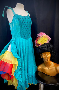 Teal & Rainbow Saloon