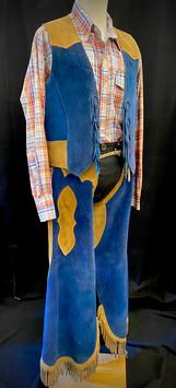 Shirt XL 2 PC chaps and vest chest 40 wa