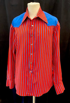 Red and Blue western shirt - L.jpg