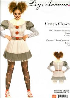 Creepy Clown girl