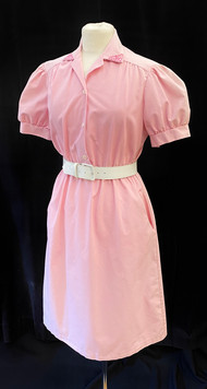 Chest 32 - pink short sleeve button down