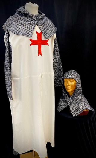 White knight tabbard - approx 2 avail XL