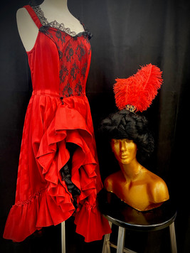 Red & Black Saloon