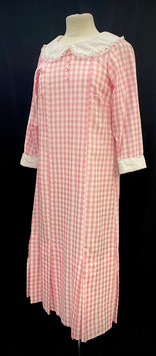 Chest 34 waist 27 pink and white day dress