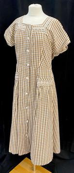 Chest 38 - brown plaid short sleeve.jpg