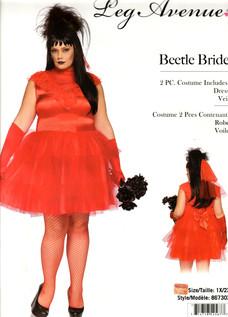 Beetlejuice Bride plus