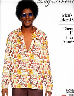 70's Floral Shirt