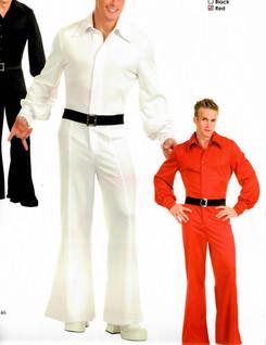 Studio 54 Jumpsuit Red