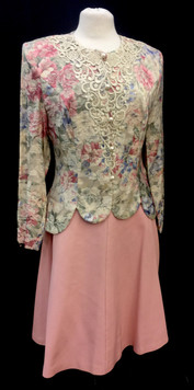 Chest 36 - 2 piece jacket and pink skirt
