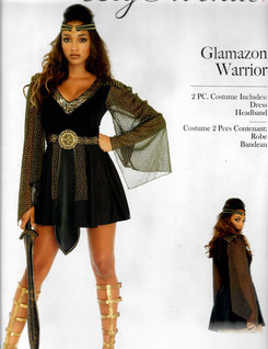 Glamazon Warrior