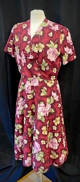 Chest 38 - Red short sleeve dress.jpg